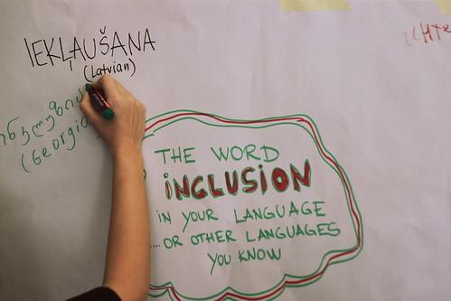 """""""Inklusion"""" in unterschiedlichen Sprachen"""