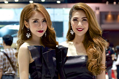 Sexy presenters for Lexus at the 36th Bangkok International Motor Show