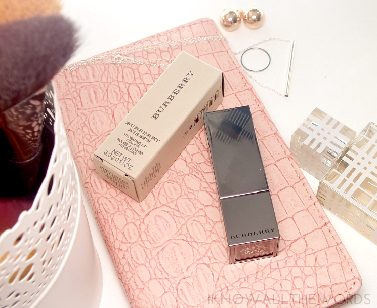 burberry kisses hydrating lipstick- no 5 nude pink (6)
