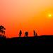 Sunset on village - Hatay - Vietnam. by Ngocchau Media