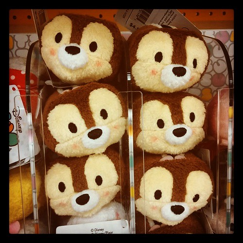 Chip & Dale Tsum Tsum are just too cute.