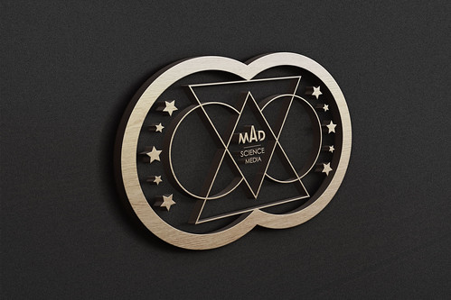 3D Wooden Logo mad2