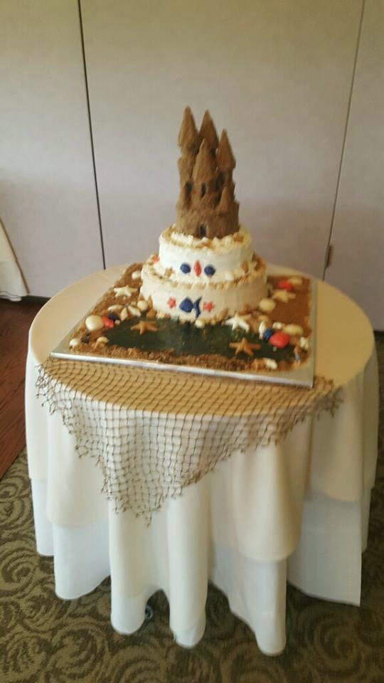 Sandcastle Cake by Susan Donato