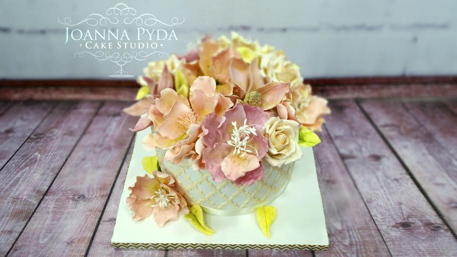 Joanna Pyda Cake Studio's Beautiful Cake