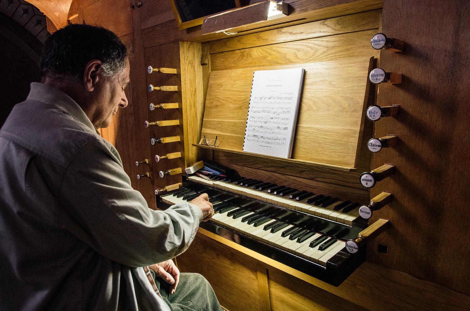 Philippe au clavier - Carnet de voyage dans le Tarn-et-Garonne