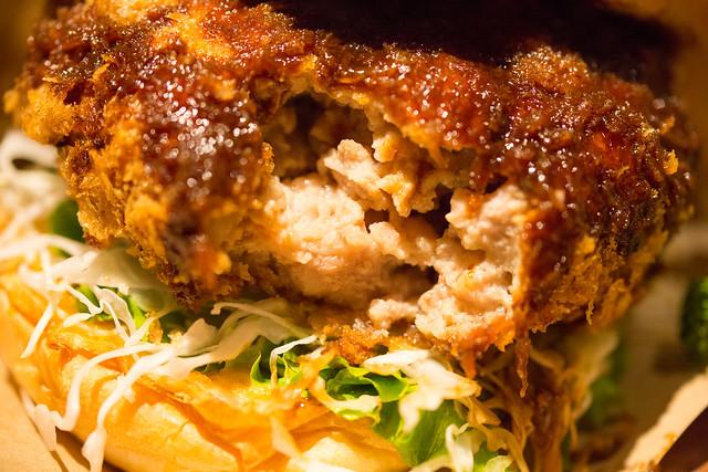 豚組食堂 究極のメンチかつバーガー #六本木グルメバーガー
