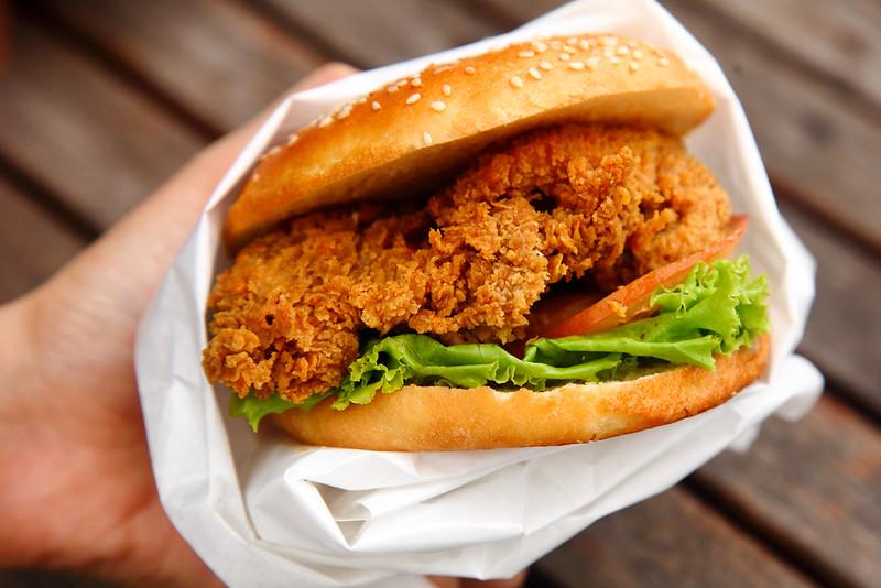 Harley's Chicken-Burger