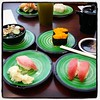 My reward for the expo. Because sushi is better off a belt! #foodphotography #healthy-ish by BruceMatsunaga