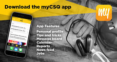 The myCSQ app lets tradies keep track of their careers