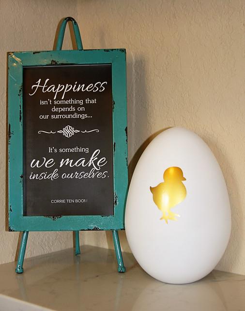 Chick Easter Egg Decor