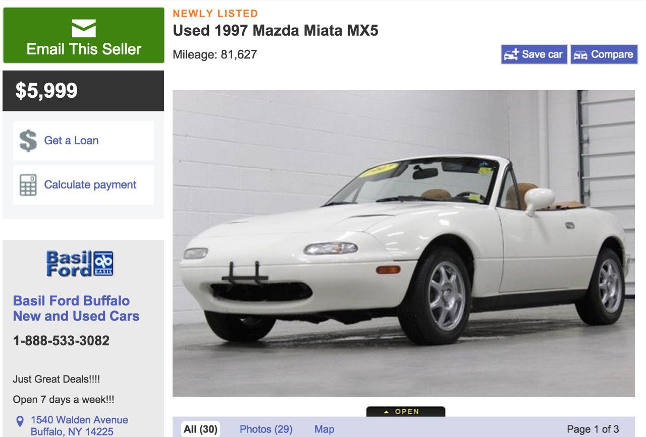 1997 Mazda MX5 Miata For Sale