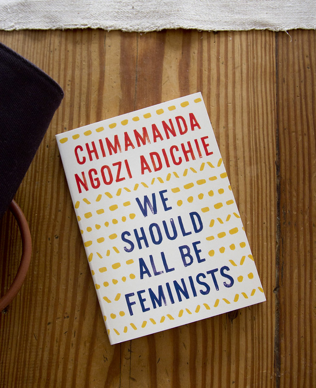tiny book review: we should all be feminists | reading my tea leaves