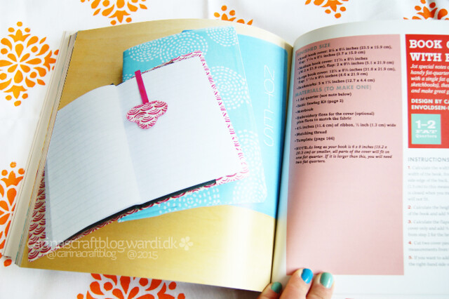 Fat Quarters book - I have a project in this book!