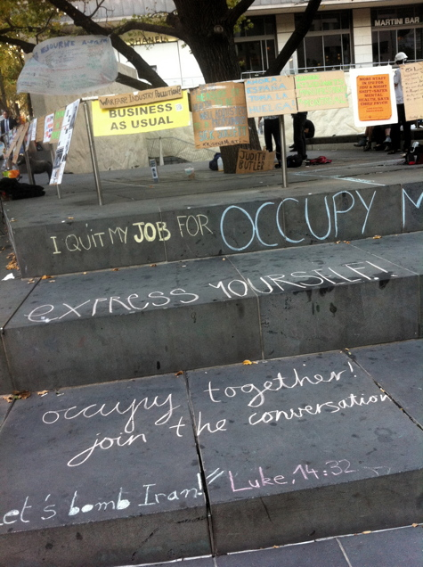 I Quit My Job For Occupy