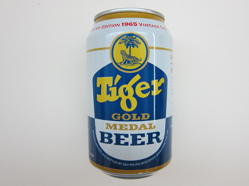 Tiger Beer Limited Edition 1965 Vintage Can