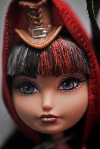 Hat-tastic Cerise Hood