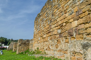 Billede af  Castelo de Alcobaça. portugal medieval castelo turismo alcobaça
