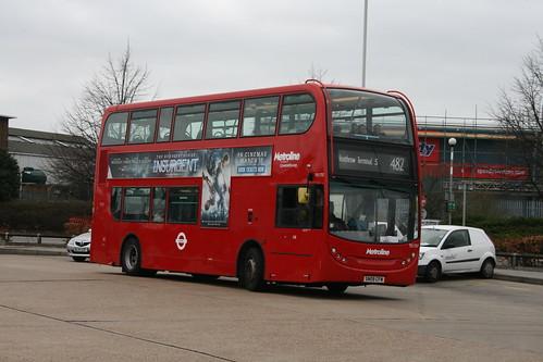 Metroline West TE1737 on Route 482, Hatton Cross