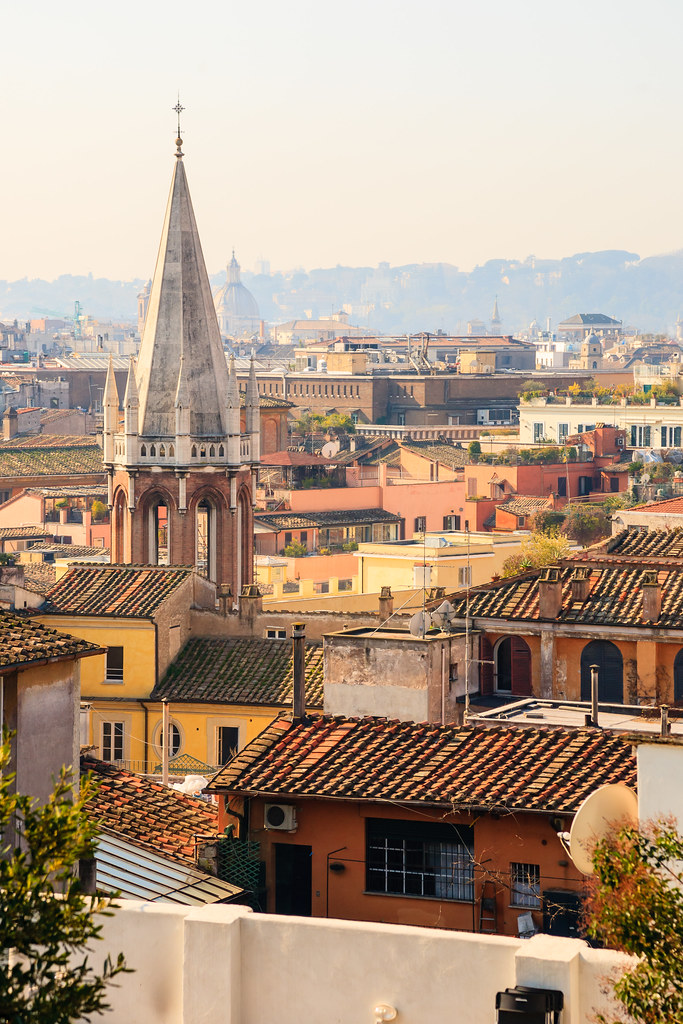 Rooftops of Rome [Flickr]