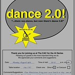 Dance 2.0 Show Poster