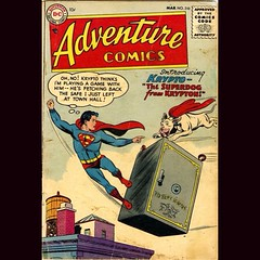 #Krypto is way out front in second round voting for the Super-Animal Showdown at www.LongbixGraveyard.com. #comics