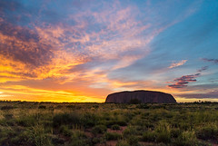 australia 11 (sunrise at uluru)