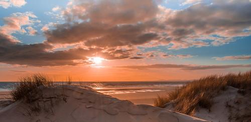 Harlech Beach looking towards the Llŷn Peninsula