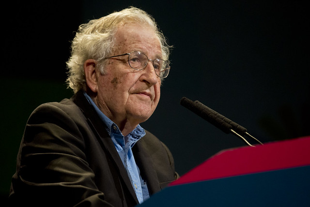Conferencia magistral de Noam Chomsky - - Foro Internacional por la Emancipación y la Igualdad