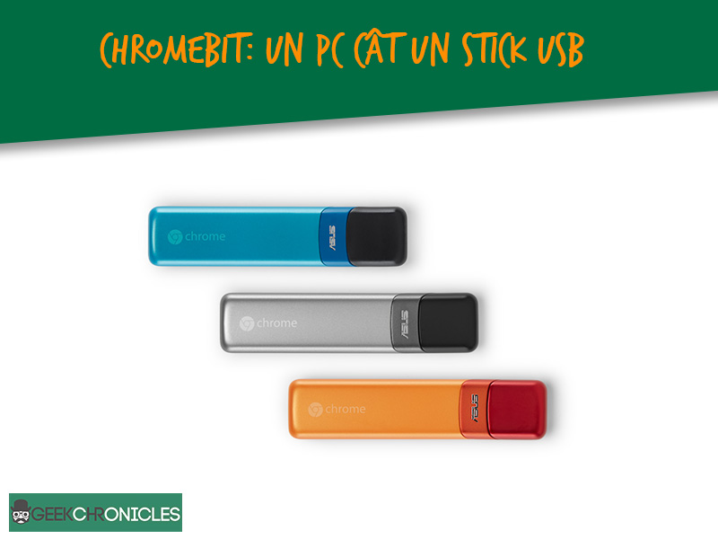 Chromebit este un PC ce ia forma de stick