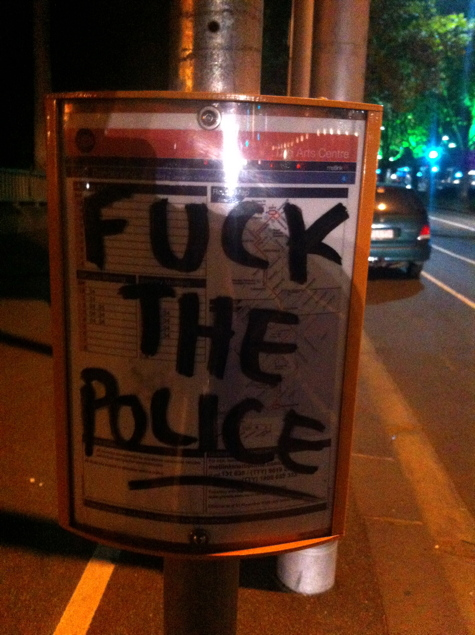 May Day: Fuck The Police