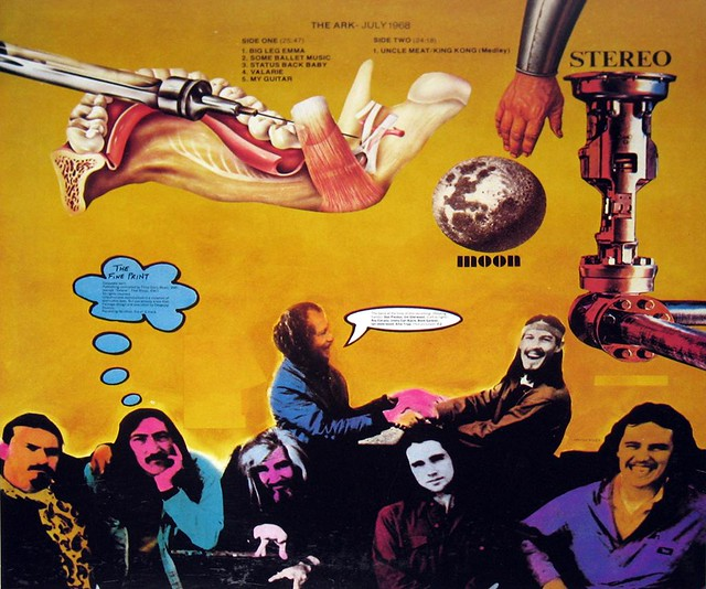 "FRANK'S MOTHERS OF INVENTION – The Ark - July 1968  12"" Vinyl LP"
