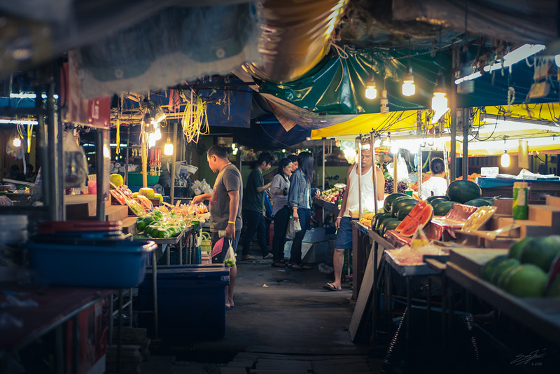 In the Night Market