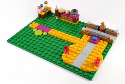 LEGO Elves 41074 Azari and the Magical Bakery 12