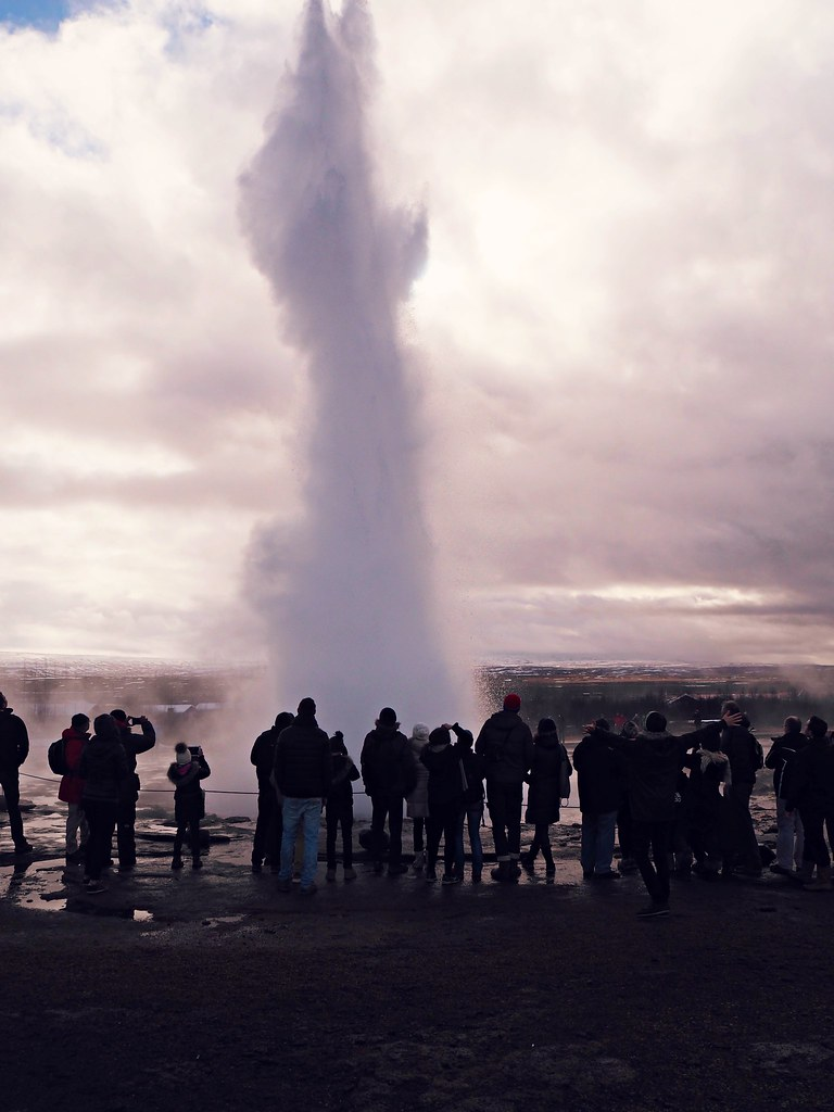 reykjavik Iceland golden circle tour geyser 3