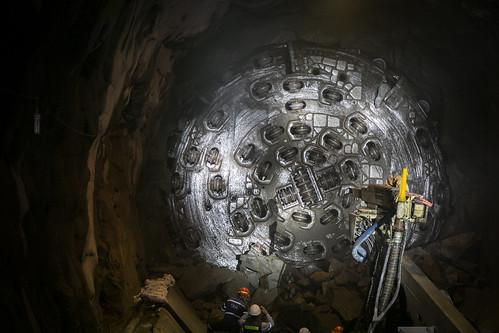 Conclusión del túnel de Conducción en el Proyecto Hidroeléctrico Coca Codo SInclair