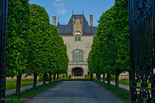 Ochre Court by Alex Tao Wang, I {heart} Rhody