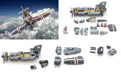 F-06 SkyRazor - parts
