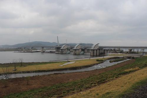 四大江工程將韓國境內四大流域以各式工程手段進行開發利用。圖片來源:林吉洋