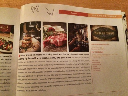 Dining Out magazine, the great restaurants of Atlanta!