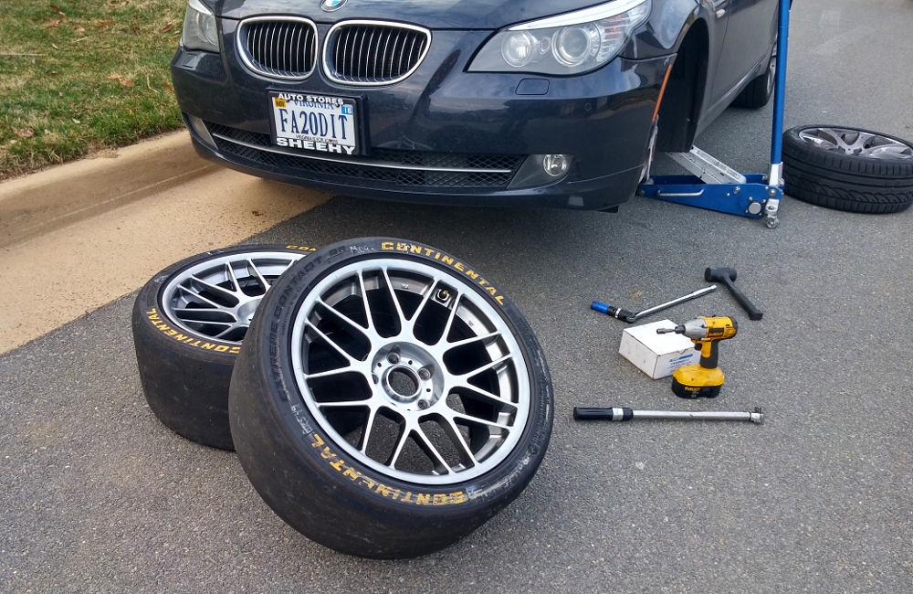 anyone buy wheel bearing hubs off ebay? - 5Series net - Forums