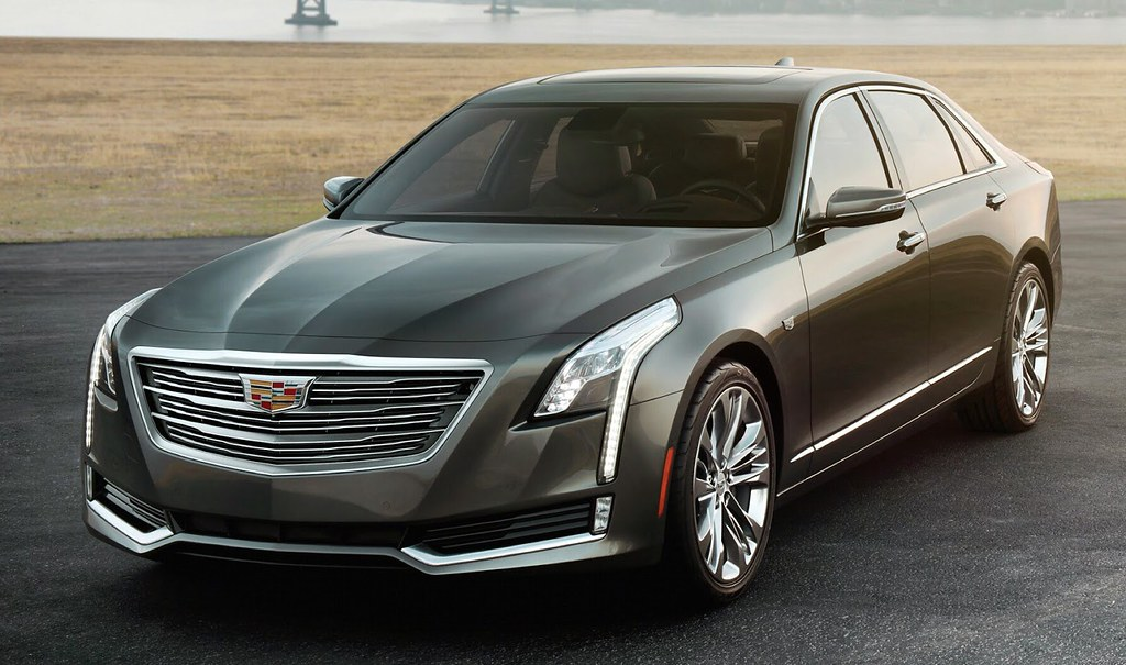 This is the 2016 Cadillac CT6