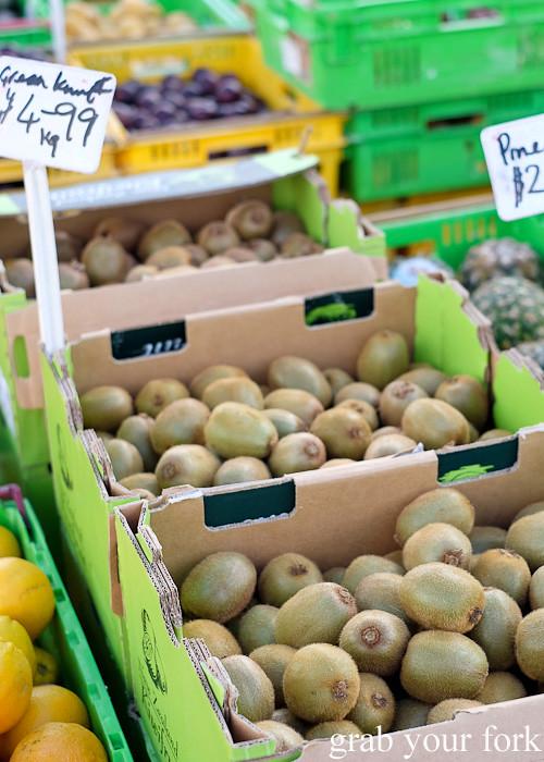 Kiwifruit at Harbourside Market, Wellington