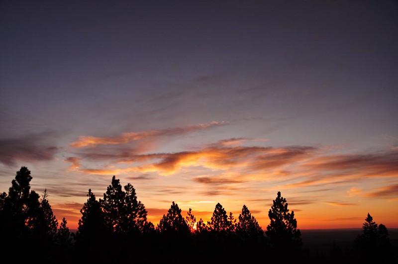 Fivemile Butte sunrise
