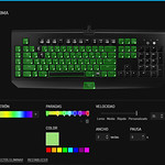 Razer BlackWidow Ultimate Chroma Synapse Configuracion de Chroma