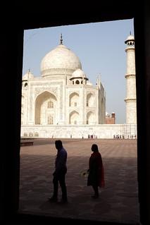 صورة Taj Mahal قرب Āgra. white taj mahal tajmahal agra marble