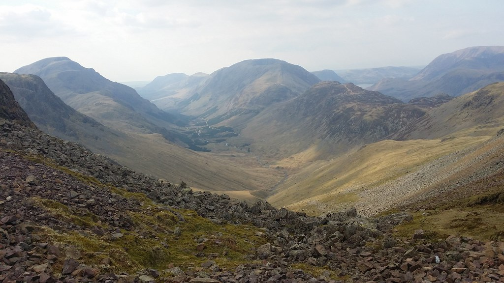Ennerdale from Windy Gap #sh