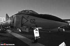 153030 NF-102 - 1557 - US Navy - McDonnell QF-4N Phantom II - USS Midway Museum San Diego, California - 141223 - Steven Gray - IMG_6800