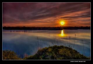 Poc abans de l'ocàs a l'estany del Pujol (Just before sunset at Pujol's loch) 2.1