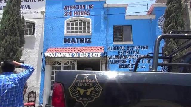 FGE rescata a 271 personas en centro de rehabilitación en Tonalá