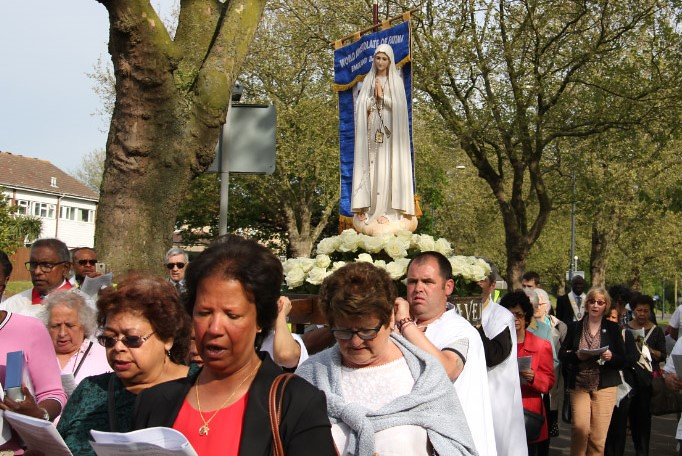 160508 - PROCESSION OF OUR LADY OF FATIMA